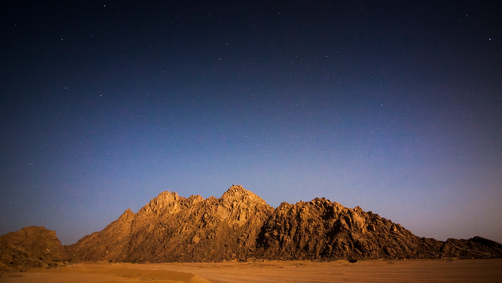 Starry Sky, Sinai Desert, Egypt
