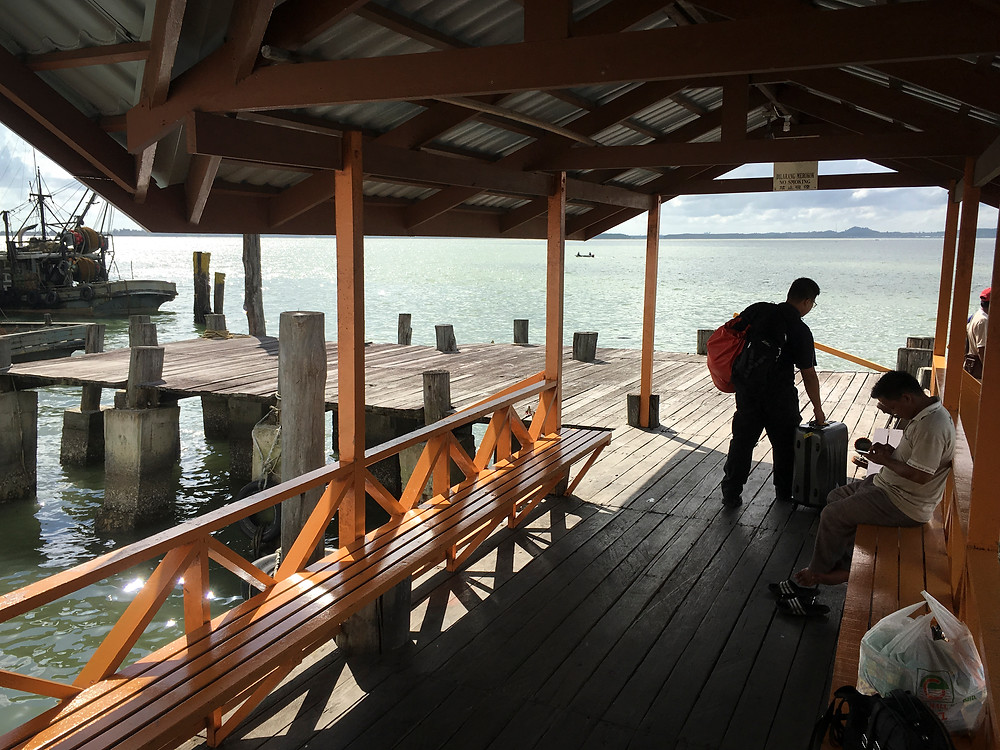 Sea Port To Selingan Island, Turtle Islands National Park, Sabah, Borneo