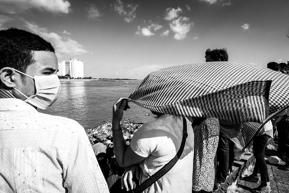 Boat Race at Bon Om Touk 2016, Phnom Penh Water Festival, Cambodia