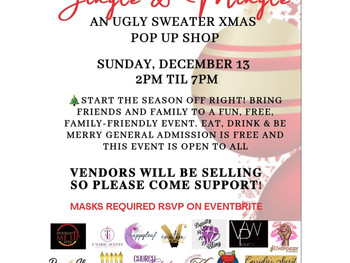 Jingle & Mingle Pop up shop