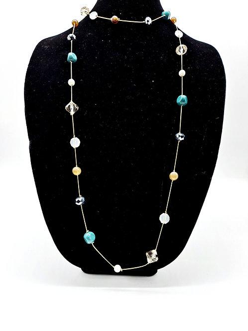 Teal Beads Set