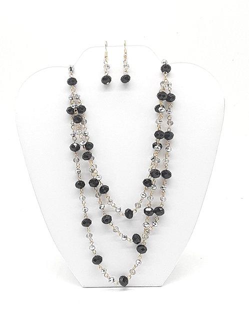 Black Bead Set