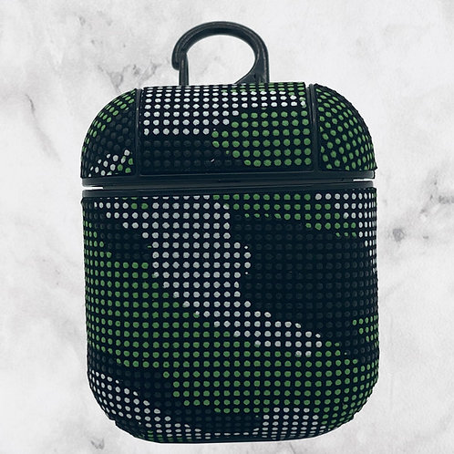 Green Camouflage AirPods Case