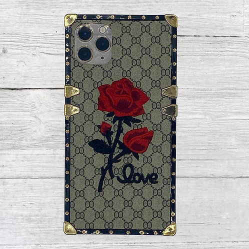 Rose Square iPhone Case