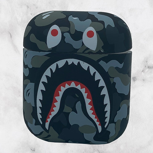 Gray Camouflage VP AirPods Case