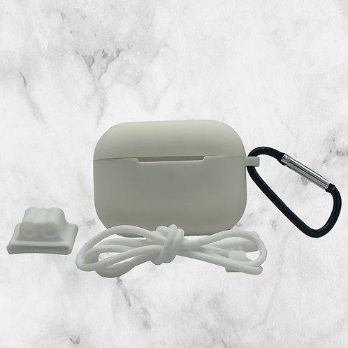 White Silicone AirPods Pro Case