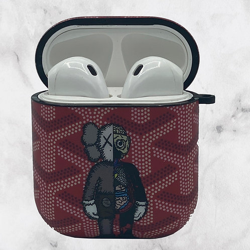Red Puppet AirPods Case