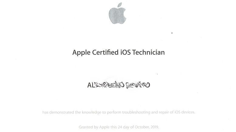 Apple Certified Technician