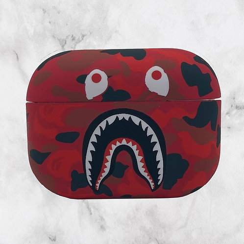 Red Camouflage VP AirPods Pro Case
