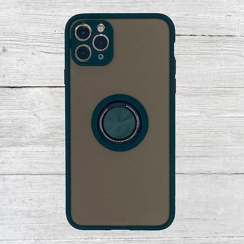 Ring Black iPhone Case