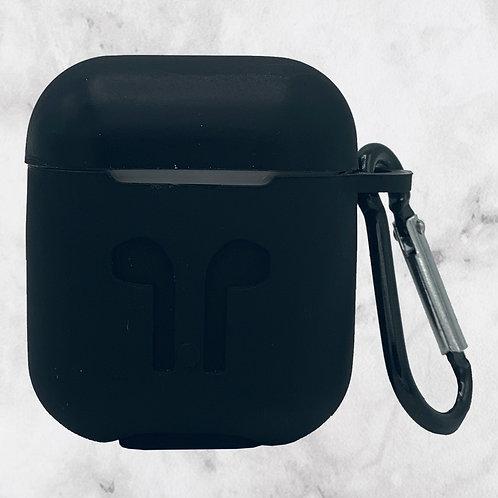Black Silicone AirPods Case