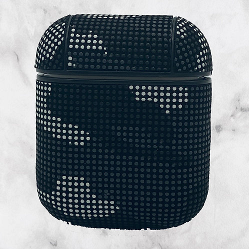 Black Camouflage AirPods Case