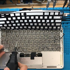 Macbook Pro keyboard repair