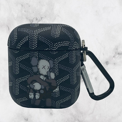 Black Puppet AirPods Case