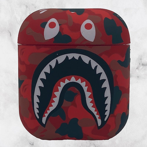 Red Camouflage VP AirPods Case