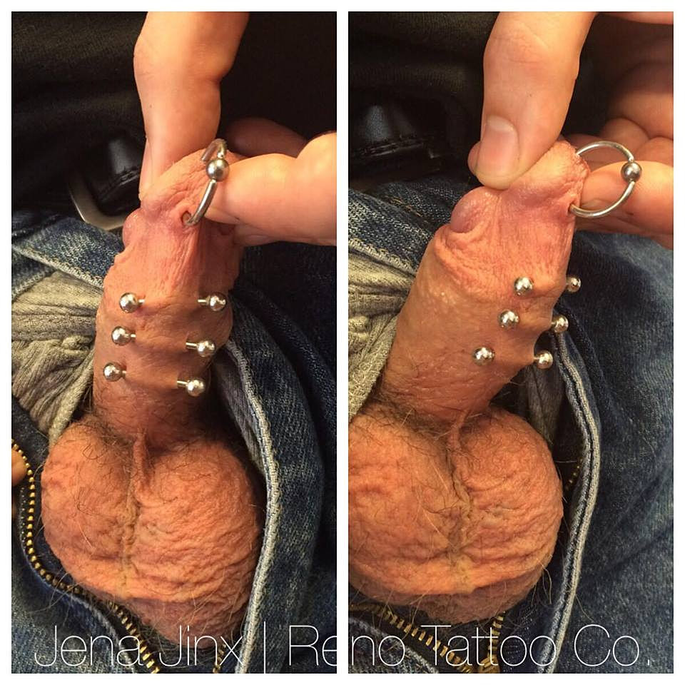 Penis pictures pierced
