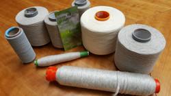 First Yarns produced with Hemp Fibers