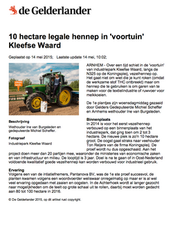 May 2015 - Legale hennep
