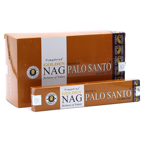 15g Golden Nag - Palo Santo Incense