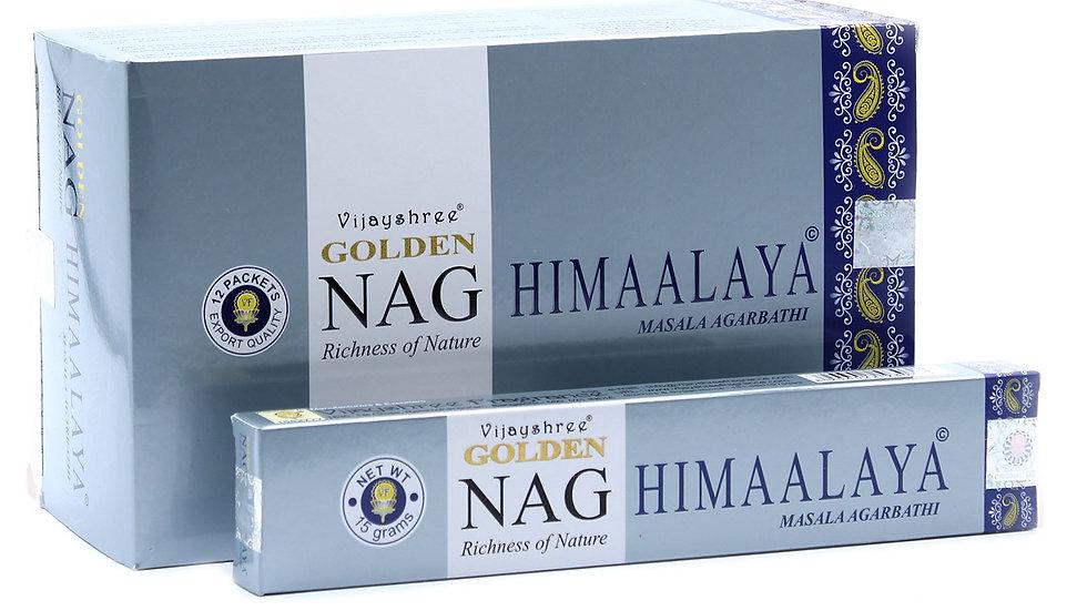 15g Golden Nag - Himalaya Incense