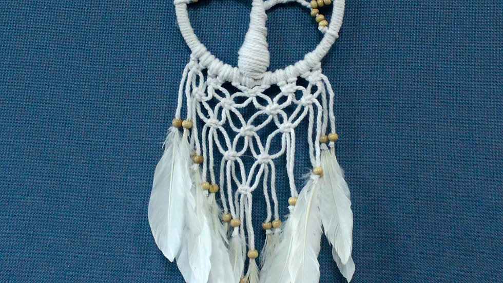 Tree of Life Dreamcatcher - Pure & Natural 16cm