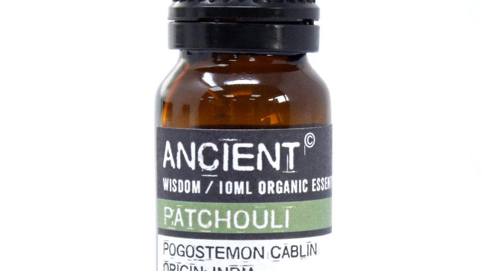 Patchouli Organic Essential Oil 10ml