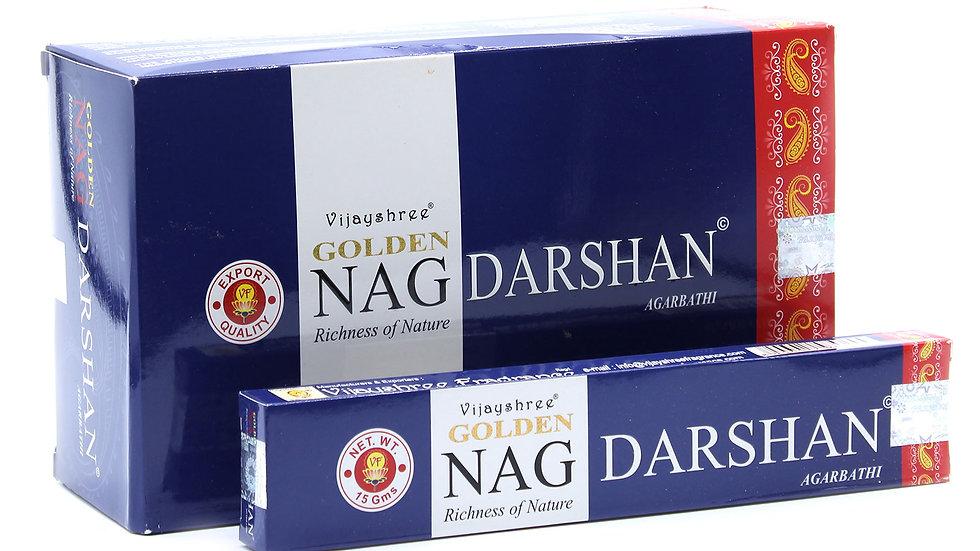 15g Golden Nag - Darshan Incense