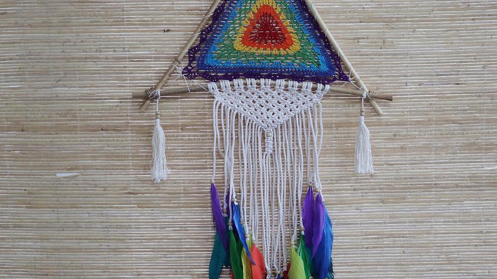Bali Dreamcatchers - Large Multi Pyramid