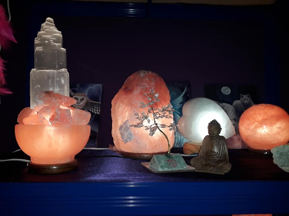 Selenite & Salt Lamps