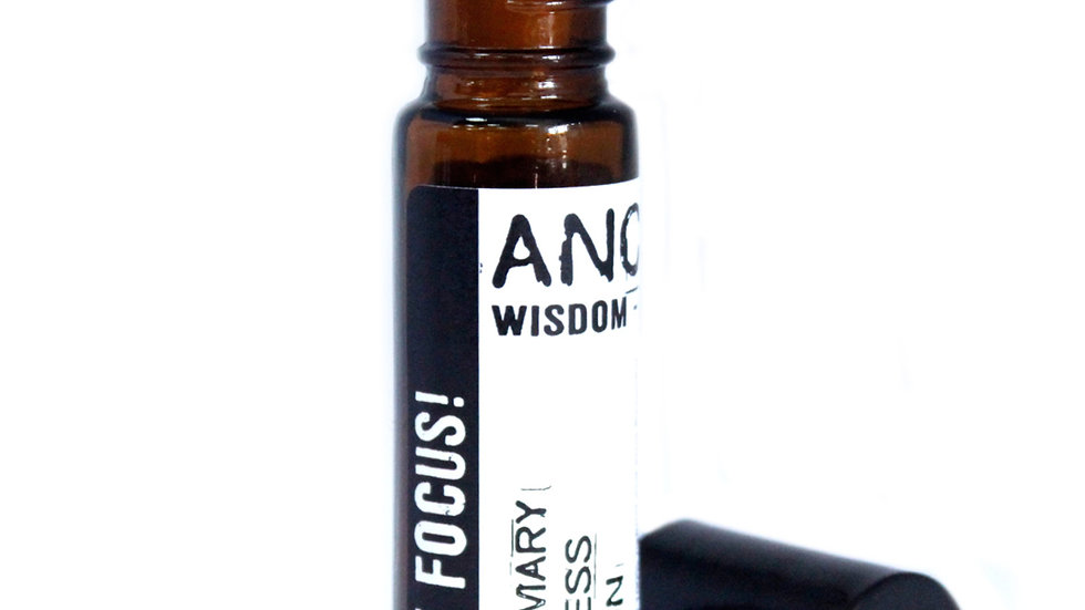 10ml Roll On Essential Oil Blend - Just Focus!