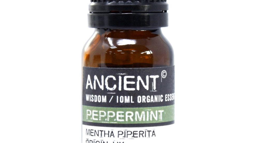 Peppermint Organic Essential Oil 10ml