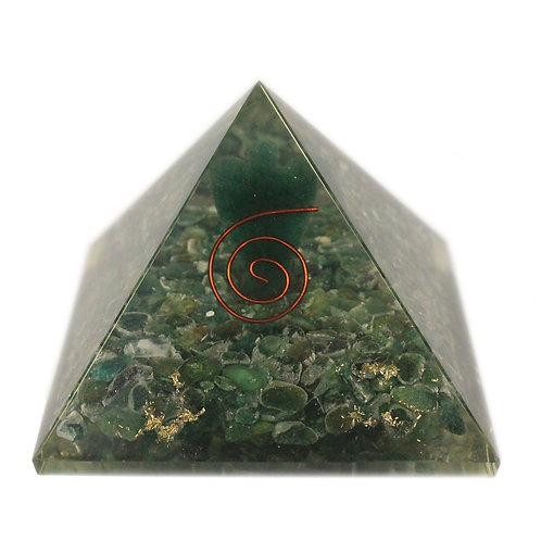 Lrg Orgonite Pyramid 70mm - Angel