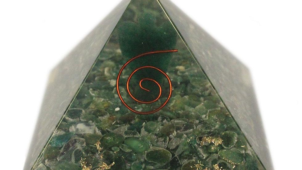 Lrg Orgonite Pyramid 70mm - Angel