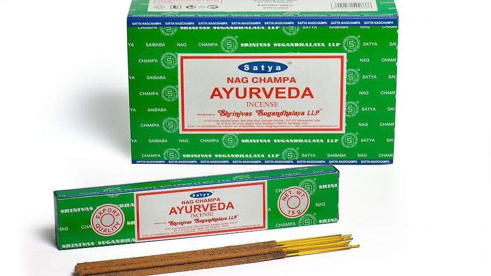 Satya - Incense 15gm - Ayurveda