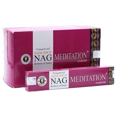 15g Golden Nag - Meditation Incense