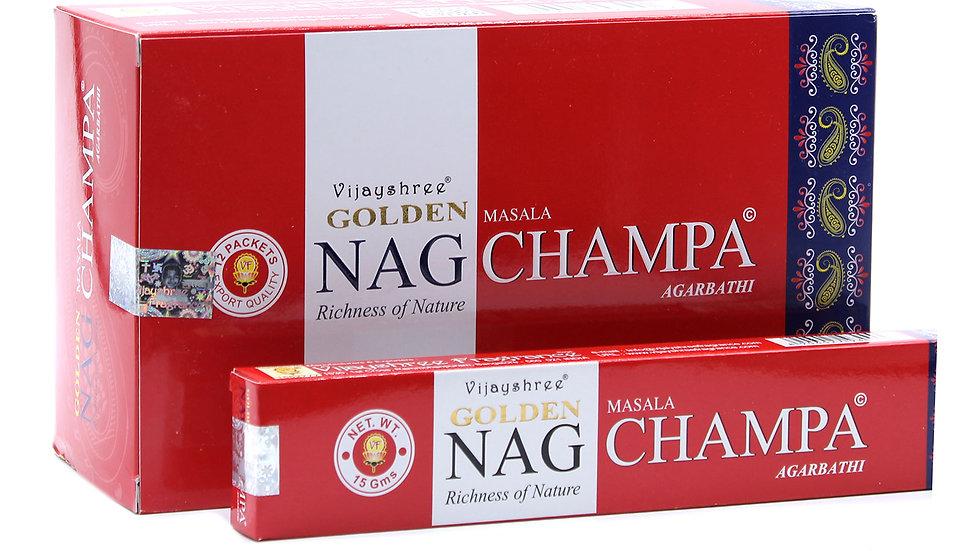 15g Golden Nag - Champa Incense