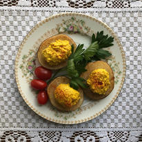 Curried Potato and Egg