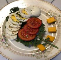 Breakfast Salad Plate
