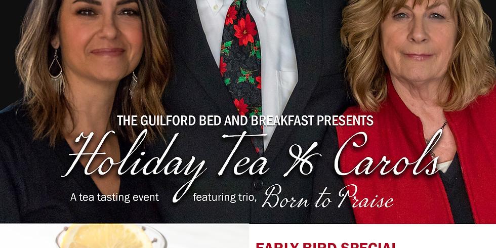 Holiday Tea & Carols  - Dec 8