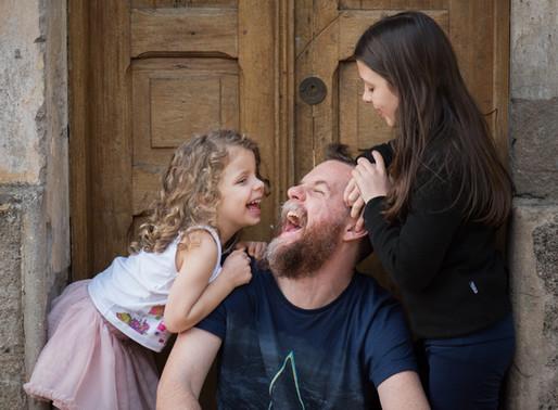 """""""Permitam que a gente  viva o romantismo da paternidade"""""""