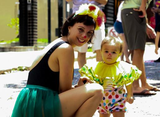 Lugar de mãe é no carnaval