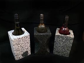 Granite plant pot