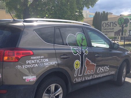 OSNS Vehicles Wrapped in New Logo