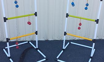 Carnival games ladder ball