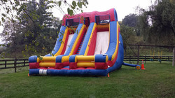Inflatable Accelerator Slide
