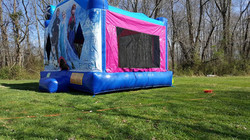 Inflatable Frozen bounce house