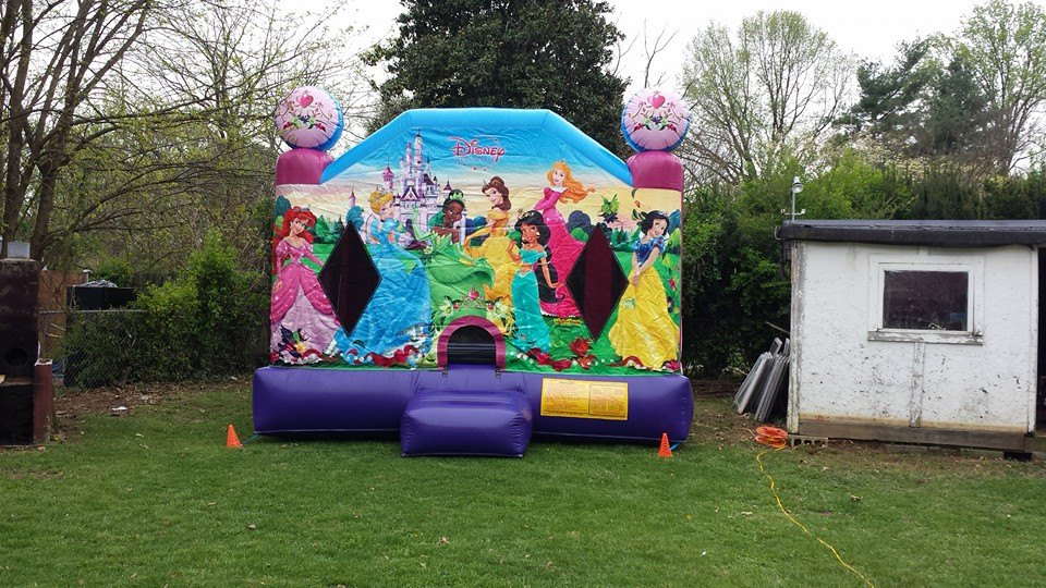 Disney Princess 2 bounce house
