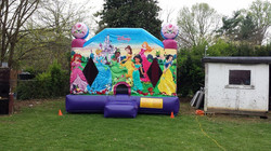 Disney Princess 2 bounce house