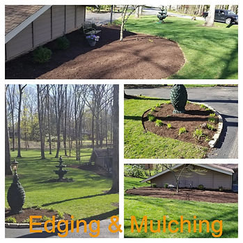 Mulching Edging, Roanoke Virginia
