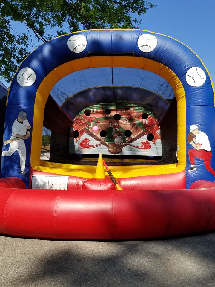 Baseball Inflatable T-ball Game